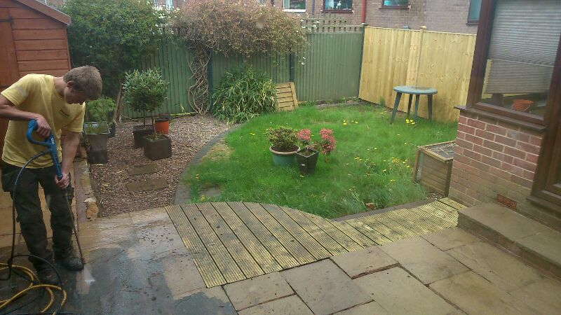 Landscape gardening work by wasps landscaping sheffield landscaped garden workwithnaturefo